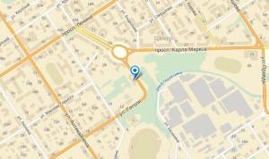 "Карта расположения офиса ""Камеа-тур"""
